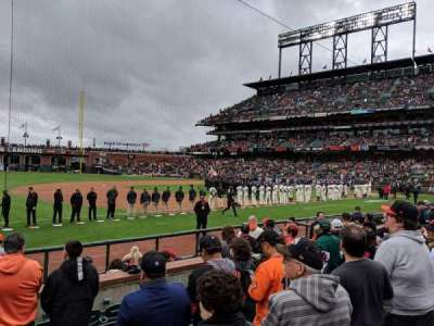 Oracle Park section 126