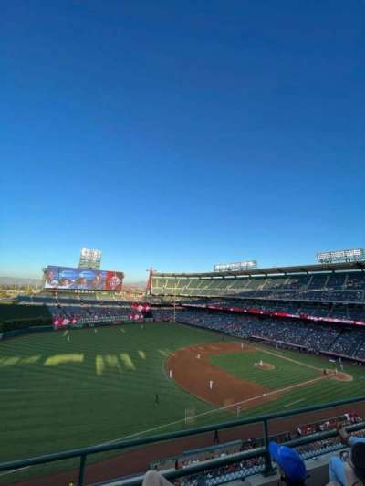 Angel Stadium, section: 409, row: C, seat: 15