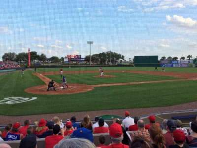 Space Coast Stadium, section: 112, row: 6, seat: 2