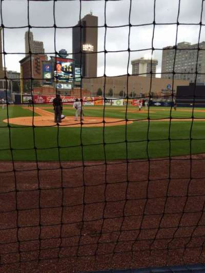 Fifth Third Field, section: 112, row: B, seat: 2