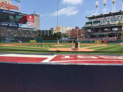 Progressive Field section 155