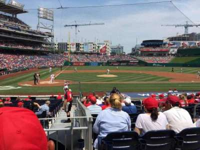 Nationals Park, section: 127, row: U, seat: 5