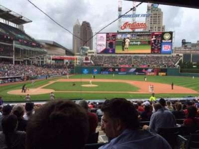 Progressive Field, section: 148, row: CC, seat: 4