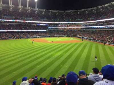 Progressive Field, section: 183, row: J, seat: 11