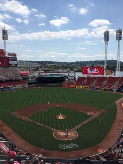 Great American Ball Park, section: 523, row: C, seat: 16