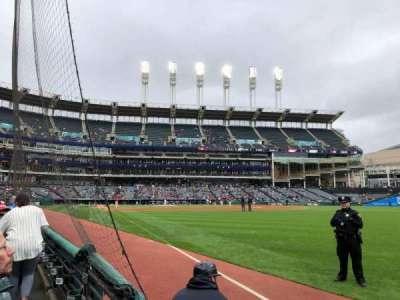 Progressive Field, section: 125, row: B, seat: 20