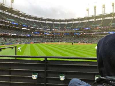 Progressive Field, section: 101-4, row: B, seat: 7