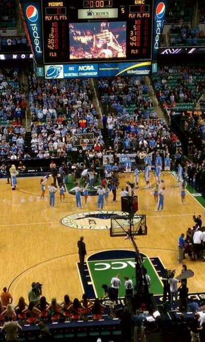 Greensboro Coliseum, section: 240, row: h, seat: 1