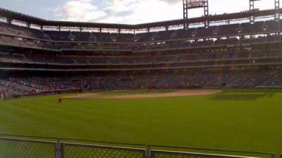 Citizens Bank Park, section: 102, row: 4, seat: 7