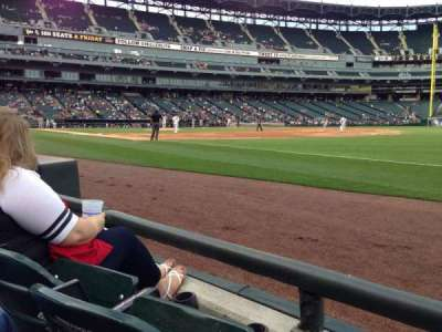 Guaranteed Rate Field, section: 117, row: 1, seat: 5