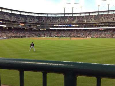 Comerica Park section 104