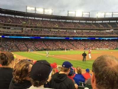 Globe Life Park in Arlington, section: 37, row: 7, seat: 12
