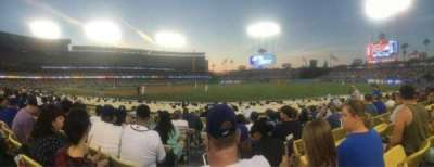 Dodger Stadium, section: 36FD, row: F, seat: 1