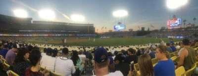 Dodger Stadium, section: 36FD, row: F, seat: 1