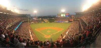Angel Stadium, section: V521, row: 1, seat: 12