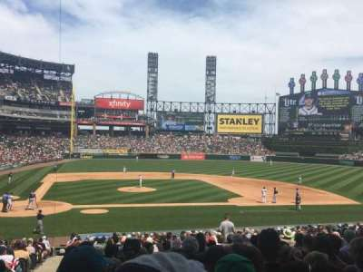 Guaranteed Rate Field, section: 127, row: 30, seat: 9-10