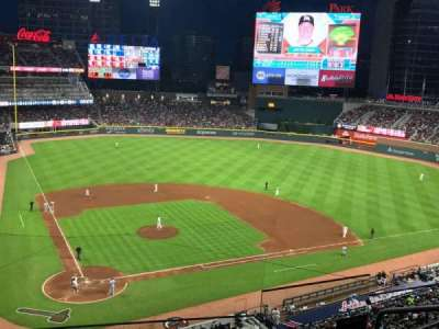 SunTrust Park, section: 324, row: 5, seat: 5