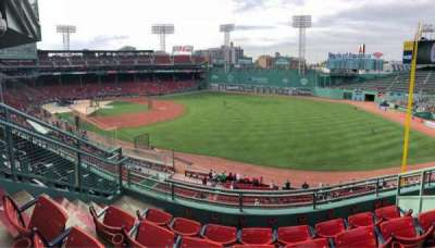 Fenway Park, section: Right Field Roof Box 23, row: C, seat: 5