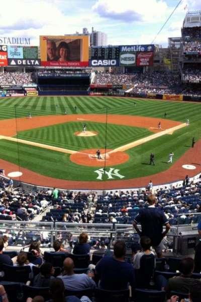 Yankee Stadium, section: 220a, row: 1, seat: 1