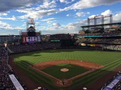 Coors Field section L330
