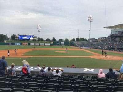 Arvest Ballpark section 115