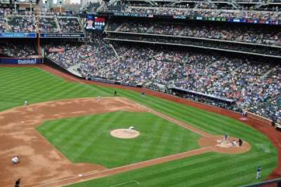 Citi Field, section: 423, row: 2, seat: 15