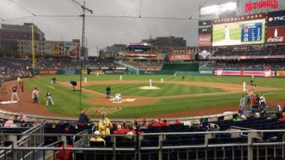 Nationals Park, section: 124, row: C, seat: 5