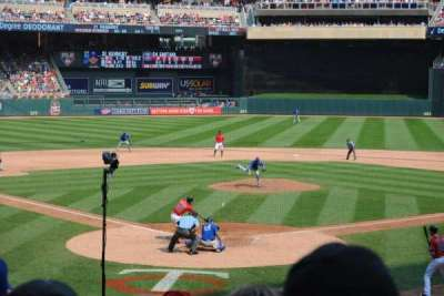 Target Field, section: 113, row: 8, seat: 7