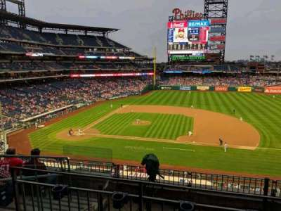 Citizens bank park  section 215