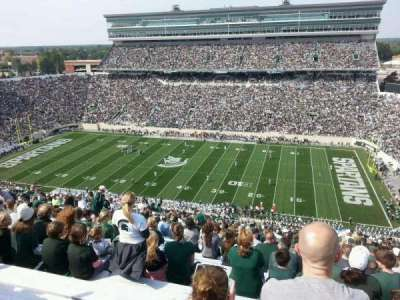 Spartan Stadium, section: 106, row: 31, seat: 36