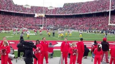 Ohio Stadium, section: 37aa, row: 1, seat: 8