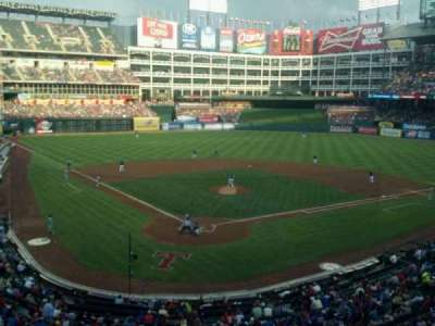 Globe Life Park in Arlington, section: Suite 119