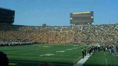 Michigan Stadium section 9