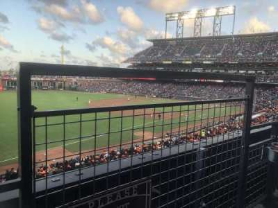 AT&T Park, section: 230, row: A, seat: 7, 8