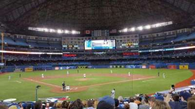 Rogers Centre, section: 120L, row: 24, seat: 110
