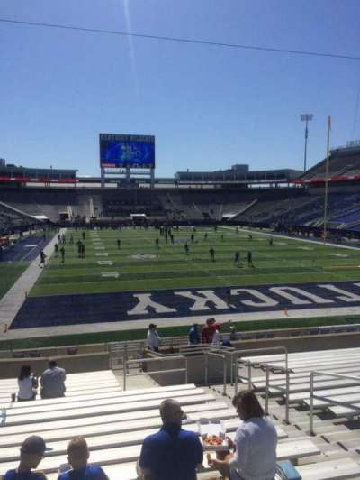 Kroger Field, section: 14, row: 20, seat: 11
