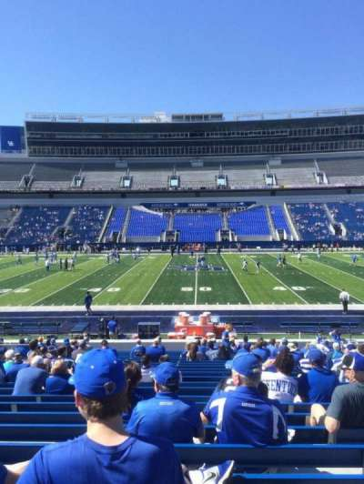 Kroger Field, section: 6, row: 24, seat: 16