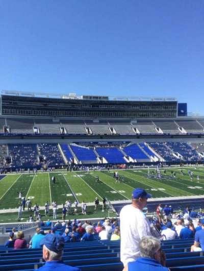 Kroger Field, section: 4, row: 35, seat: 9