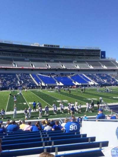 Kroger Field, section: 3, row: 19, seat: 18