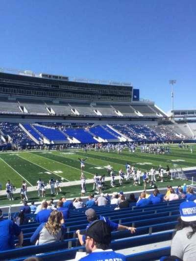 Kroger Field, section: 3, row: 20, seat: 5