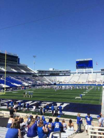 Kroger Field, section: 39, row: 15, seat: 1