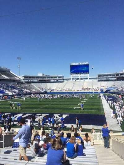 Kroger Field, section: 38, row: 15, seat: 14