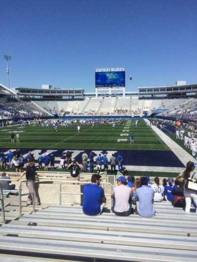 Kroger Field, section: 38, row: 15, seat: 5