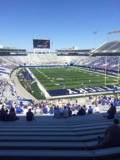 Commonwealth Stadium, section: 33, row: 45, seat: 19