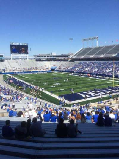 Commonwealth Stadium, section: 32, row: 44, seat: 22
