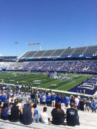Kroger Field, section: 30, row: 36, seat: 21