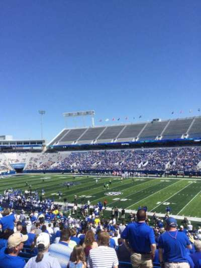 Commonwealth Stadium, section: 29, row: 36, seat: 30