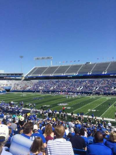 Commonwealth Stadium, section: 29, row: 34, seat: 28