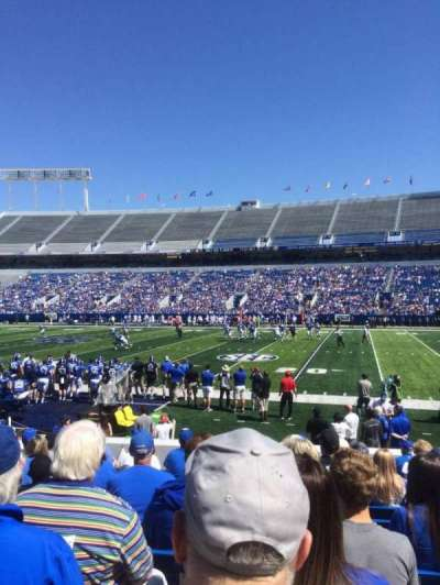 Commonwealth Stadium, section: 28, row: 13, seat: 11