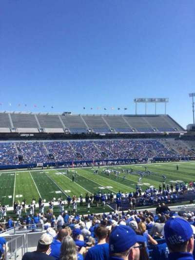 Kroger Field, section: 24, row: 33, seat: 1